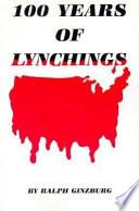 100 Years of Lynchings
