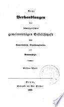 Verhandlungen der Schweizerischen Gemeinnützigen Gesellschaft
