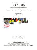 Geometry processing 2007