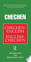 Chechen English English Chechen Dictionary and Phrasebook