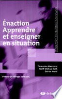 illustration Énaction. Apprendre et enseigner en situation
