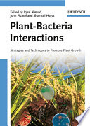Plant Bacteria Interactions