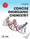 CONCISE INORGANIC CHEMISTRY, 5TH ED