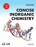 CONCISE INORGANIC CHEMISTRY  5TH ED