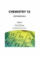 Chemistry 12 Vce Essentials
