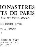 Abbayes  monast  res  et couvents de Paris