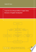 Corporate Social Responsibility in Supply Chains