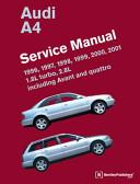 Audi A4 B5 Service Manual