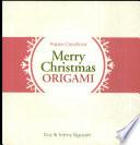 Merry Christmas origami