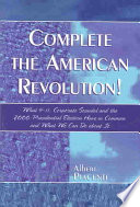 Complete the American Revolution