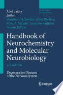 Handbook Of Neurochemistry And Molecular Neurobiology book