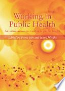 Working In Public Health