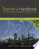 Teacher   s Handbook  Contextualized Language Instruction