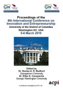 6th International Conference on Innovation and Entrepreneurship