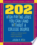 download ebook 202 high paying jobs you can land without a college degree pdf epub