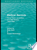 Radical Records  Routledge Revivals