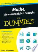 Mathe  die man wirklich braucht f  r Dummies