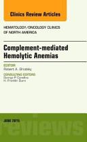 Complement Mediated Hemolytic Anemias