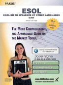 Praxis English to Speakers of Other Languages  ESOL  0361 Teacher Certification Study Guide Test Prep