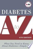 Diabetes A To Z