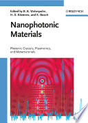 Nanophotonic Materials : work and results of a...