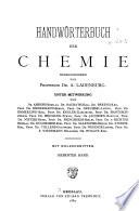 Handw  rten der chemie