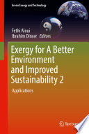 Exergy for A Better Environment and Improved Sustainability  Volume 2