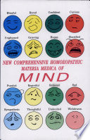 New Comprehensive Homeopathic Materia Medica of Mind
