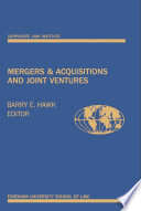Mergers and Acquisitions and Joint Ventures