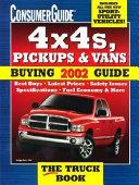 4x4s  Pickups   Vans 2002 Buying Guide