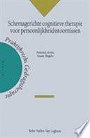 Schemagerichte cognitieve therapie voor persoonlijkheidsstoornissen