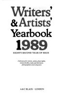 Writers  and Artists  Year book