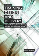 Training Design and Delivery  3rd Edition