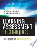 Learning Assessment Techniques