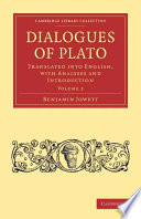 Dialogues Of Plato book