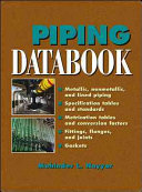 Piping Databook
