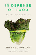 Ebook In Defense of Food Epub Michael Pollan Apps Read Mobile