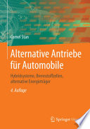 Alternative Antriebe f  r Automobile
