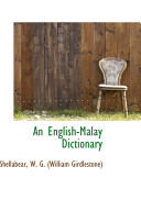 An English Malay Dictionary