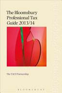 The Bloomsbury Professional Tax Guide 2013 14