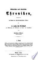 Mährische und schlesische Chroniken