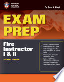 Exam Prep  Fire Instructor I   II