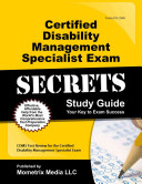 Certified Disability Management Specialist Exam Secrets Study Guide