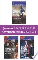 Harlequin Intrigue November 2015   Box Set 1 of 2