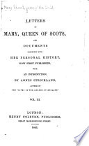 Letters of Mary , Queen of Scots