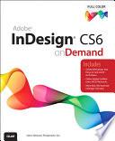 Adobe Indesign Cs6 On Demand