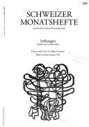 Schweizer Monatshefte