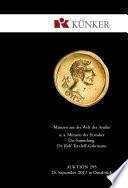 Künker Auktion 295 - Münzen aus der Welt der Antike, u. a. Münzen der Etrusker - Die Sammlung Dr. Rolf Tetzlaff-Gahrmann