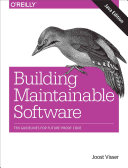 Building Maintainable Software Java Edition