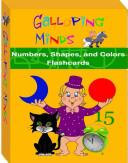 Galloping Minds Numbers  Shapes  and Colors Flashcards